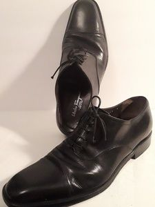 Salvatore Ferragamo Cap Toe Oxford Shoes Size 9